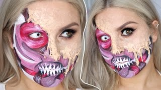 Melting Skin & Exposed Muscles ♡ Halloween SFX Tutorial Gore