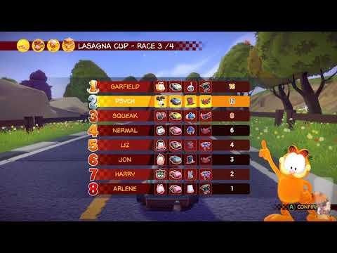 Garfield Kart - Furious Racing Stream - IT'S THE SAME DAMN GAME AS LAST TIME