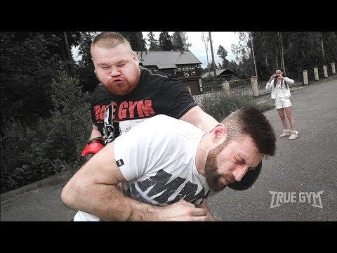 Дацик против боксера / Сможет ли нокаутировать?!