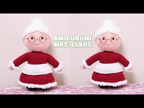 AMIGURUMI MRS CLAUS