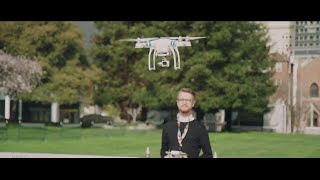 Students in Action: Artistry Soars With Drones