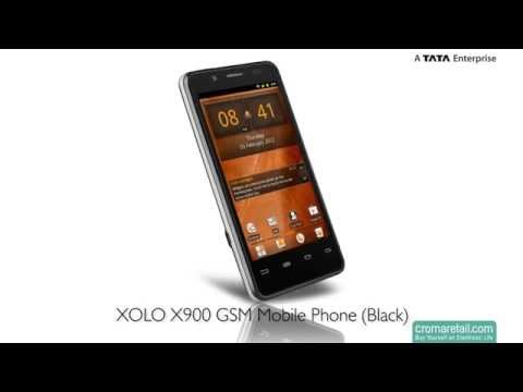XOLO X900 GSM Mobile Phone With Intel Inside (Black)