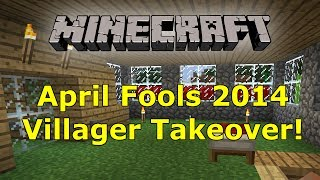 Minecraft April Fools Update