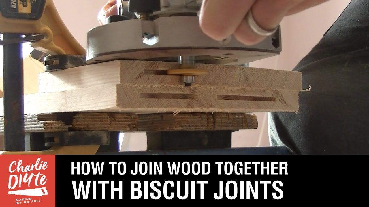 How To Join Two Pieces Of Wood Together With Biscuit