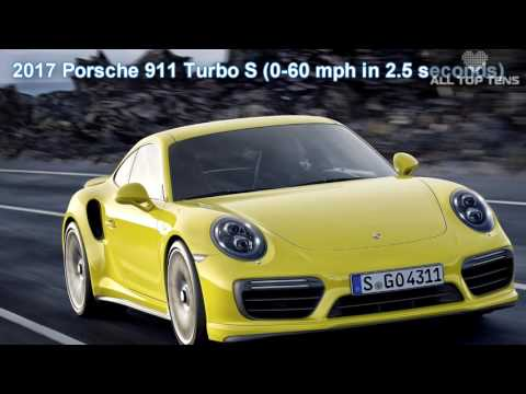 10 Fastest Acceleration Cars 0 60 MPH for 2017   YouTube 1080p