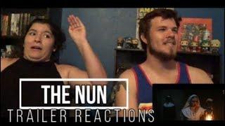 The Nun Trailer Reactions