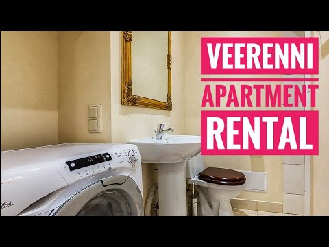 Tallinn apartment rental at Veerenni street