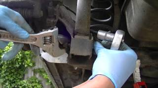 VW Golf Jetta Rear Shock Absorber Removal