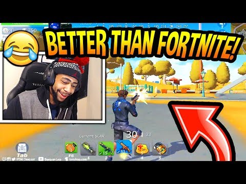 DAEQUAN Plays FAKE Fortnite! (WINS FIRST GAME!) Creative Destruction FUNNY & SAVAGE Moments!