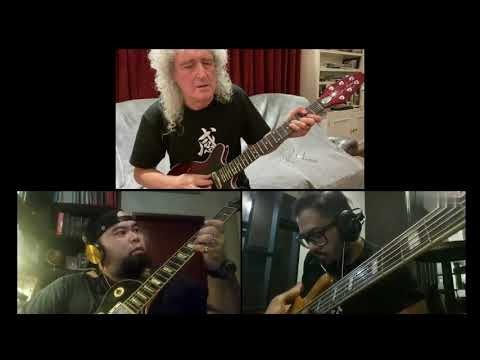 Love of my life (Queen) - Brian May feat Mahir & The ALLIGATORS