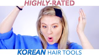 HIGHLY-RATED KOREAN Hair Tools Do they work