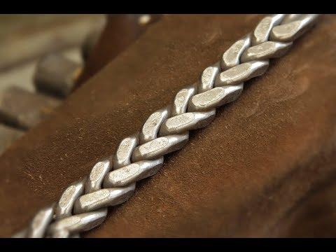 """Ковка. Кованый """"колосок"""".Blacksmith.Forging Wheat ."""