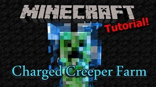 [Tutorial] Minecraft Charged Creeper Farm