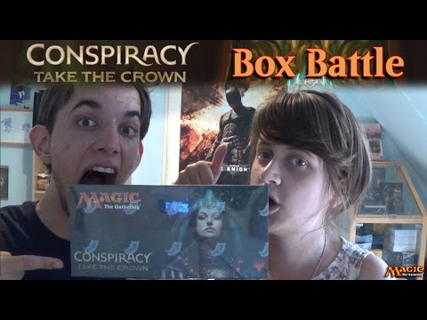 Conspiracy : Take the Crown Boosterbox Battle! (NL!)