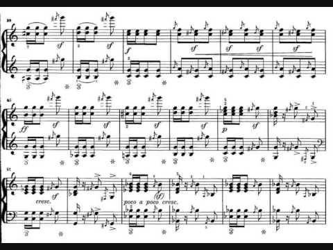 Clara Wieck-Schumann, 4 pièces caractéristiques op. 5 - I. Impromptu. Le Sabbat (1835-36)
