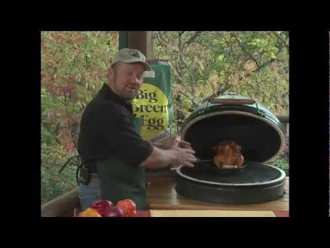 O'Neill Outside - Beer Can Chicken on the Big Green Egg - YouTube