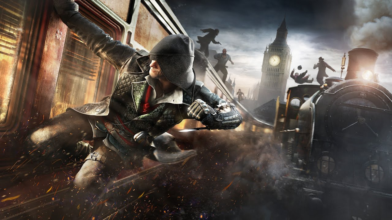 Assassin's Creed Syndicate Train Timelapse - YouTube