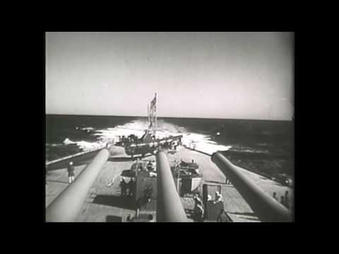 Superior History Documentary 2017: Battleship Operations-USS Iowa-Korean War 1952