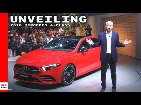 2018 Mercedes A-Class Unveiling