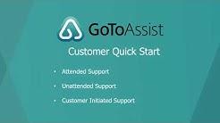 GoToAssist Remote Support Customer Quick Start