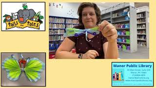 Take home craft - paper butterfly - 7/12/2021