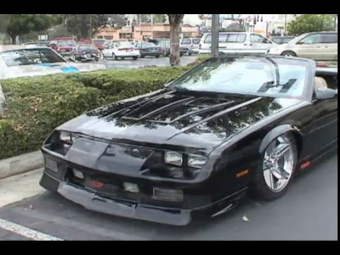 91 Camaro Rs Two Youtube