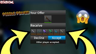 TRADING A PEBBLE FOR ALL THESE CRAZY COOL EXOTICS! *PEBBLE POWER!* (ROBLOX ASSASSIN PEBBLE TRADES)