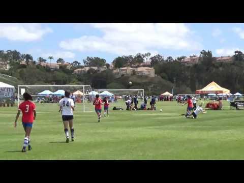 Rangers red-01' vs LA Galaxy Conejo Valley Part 1