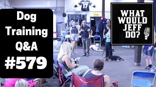 Dog Training - Dogs with Separation Anxiety - Barking Dogs - What Would Jeff Do? Q&A  Ep.579 (2019)