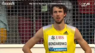 High jump Atletissima Lausanne 2013, Bondarenko 2.41m WL