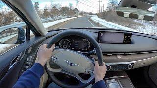 2021 Genesis G80 2.5T - POV Test Drive (Binaural Audio)