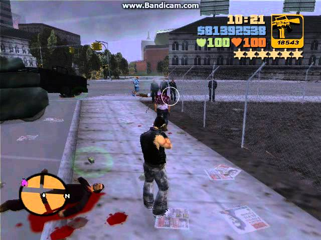 GTA 3: Fight Till The Bust RAMPAGE #1