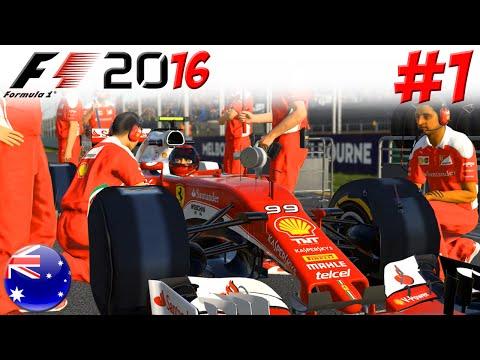 F1 2016 KARRIERE #1: Willkommen bei der Scuderia Ferrari!