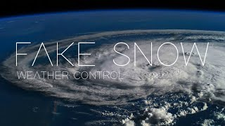 Fake Artificial Snow in Texas doesn't Melt | HAARP Weather Manipulation