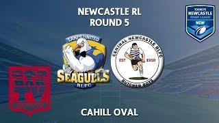 2018 Newcastle RL 1st Grade Round 5 - Lakes United v Central