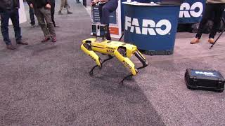 Video still for Spot, the Robotic Dog at World of Concrete 2020