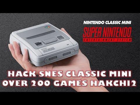 200+ Games To SNES Classic Mini HakChi 2 21d Tutorial