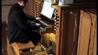 Tochter Zion, freue dich- Improvisation von Bernhardt Brand-Hofmeister - Oberlinger-Orgel in Biblis