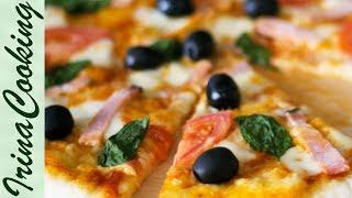 Соус для пиццы. Как приготовить томатный соус для домашней пиццы