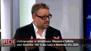 500 taxis montréalais entièrement électriques pour le 375e? Radio Canada