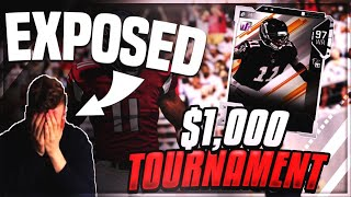 K-Aus Exposed!?!? | Madden 19 Pro Gameplay- $1k Tournament Game vs Pihcam
