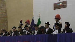 De Magistris all\'Anno giudiziario della Corte dei Conti