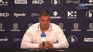 NRL Press Conference: Anthony Seibold - Round 1 | NRL on Nine