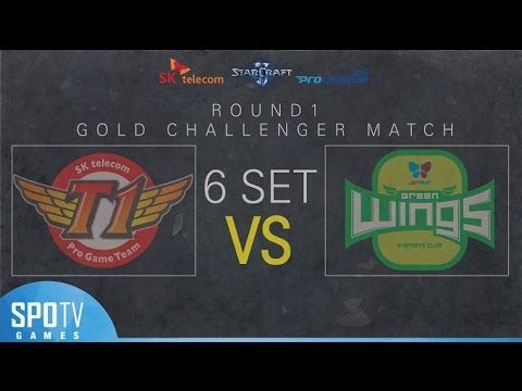 [SPL2016] 1R Playoff Finals (SKT) vs (Jin Air) Set6 Dusk Towers -EsportsTV, Starcraft 2