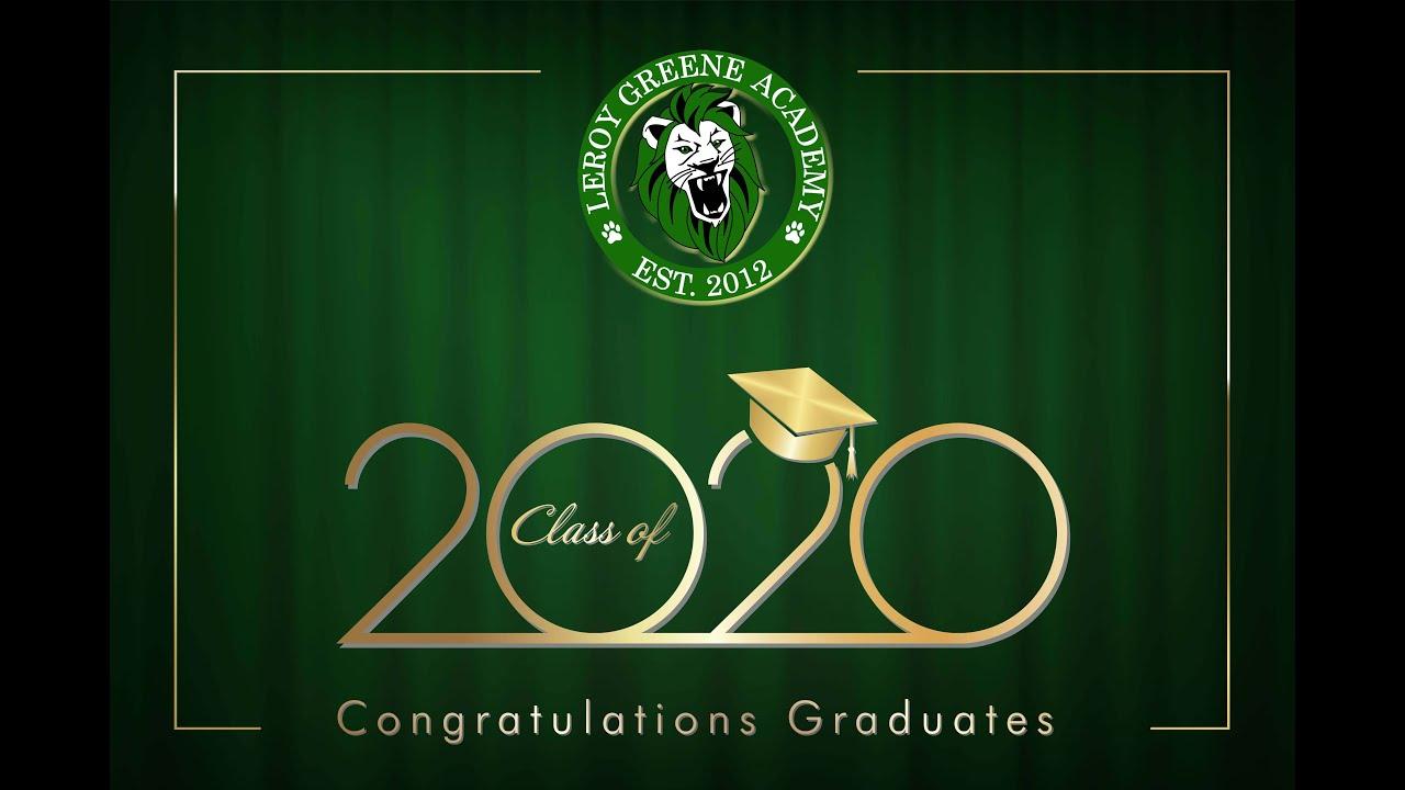Natomas USD: Leroy Greene Academy 2020 Graduation