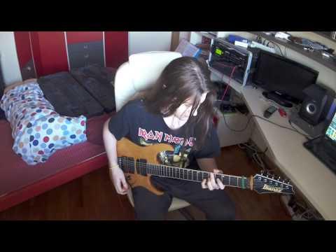 David Lee Roth / Steve Vai - Ladies' Nite In Buffalo? [Axe Fx II XL / Ibanez Usa Custom]