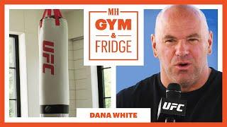 UFC's Dana White Shows His INSANE Las Vegas Home Gym & Fridge | Gym & Fridge | Men's Health