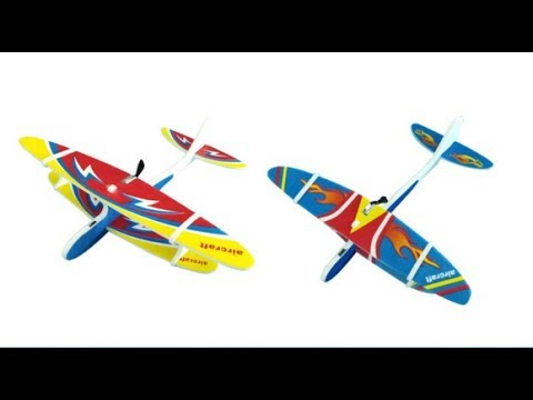 Электрический самолет-планер с Алиэкспресс. Лютая штука!