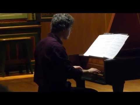 Recital by Italian harpsichordist Michele Benuzi at Music's Museum in Lisbon August 2014