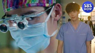 SBS [닥터이방인] - 박훈(이종석), 재준(박해진)대신한 수술 완벽
